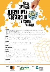 Curso online sobre alternativas al desarrollo y economía solidaria